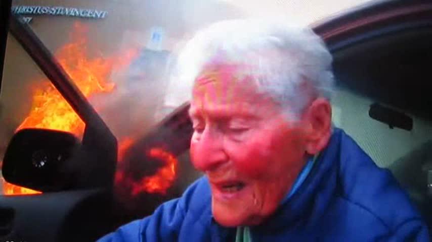 Dash Cam Video Elderly Lady Car On Fire_76715093-159532