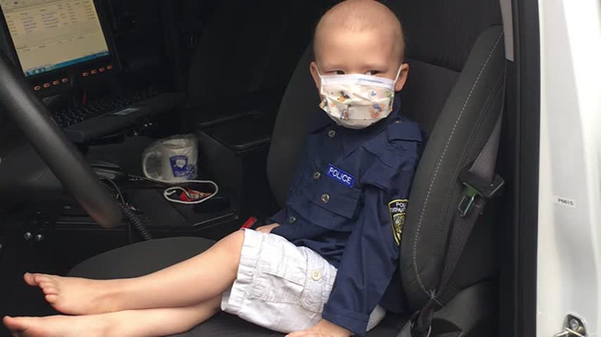 Little Three Year Old With Cancer Becomes An Officer_60911302-159532