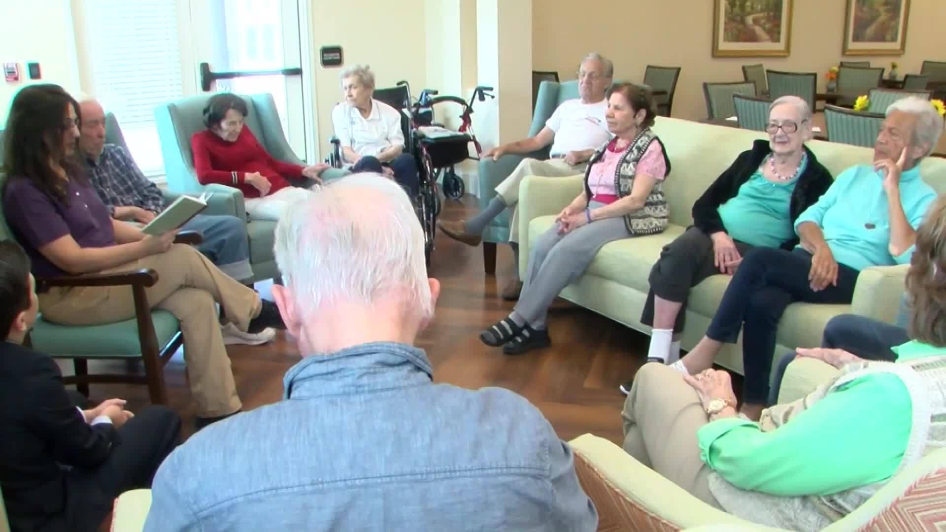 Dementia patients get help through stories