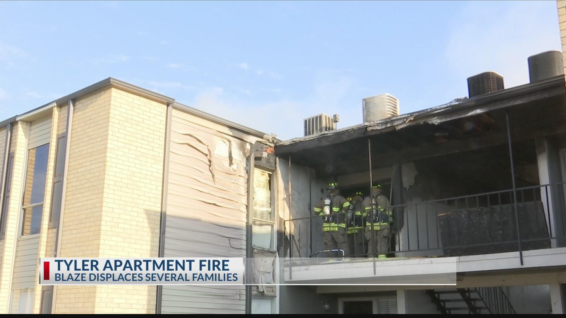 Tyler Apartment fire