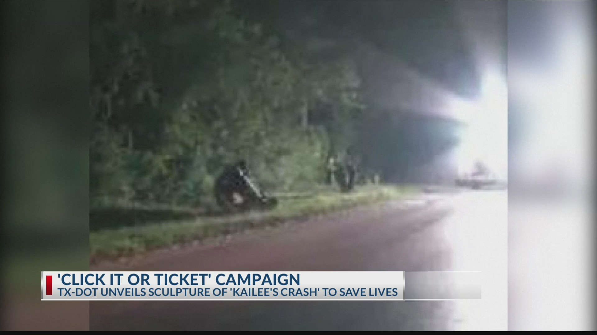 'Click It or Ticket': Family hoping story of daughter's death saves others