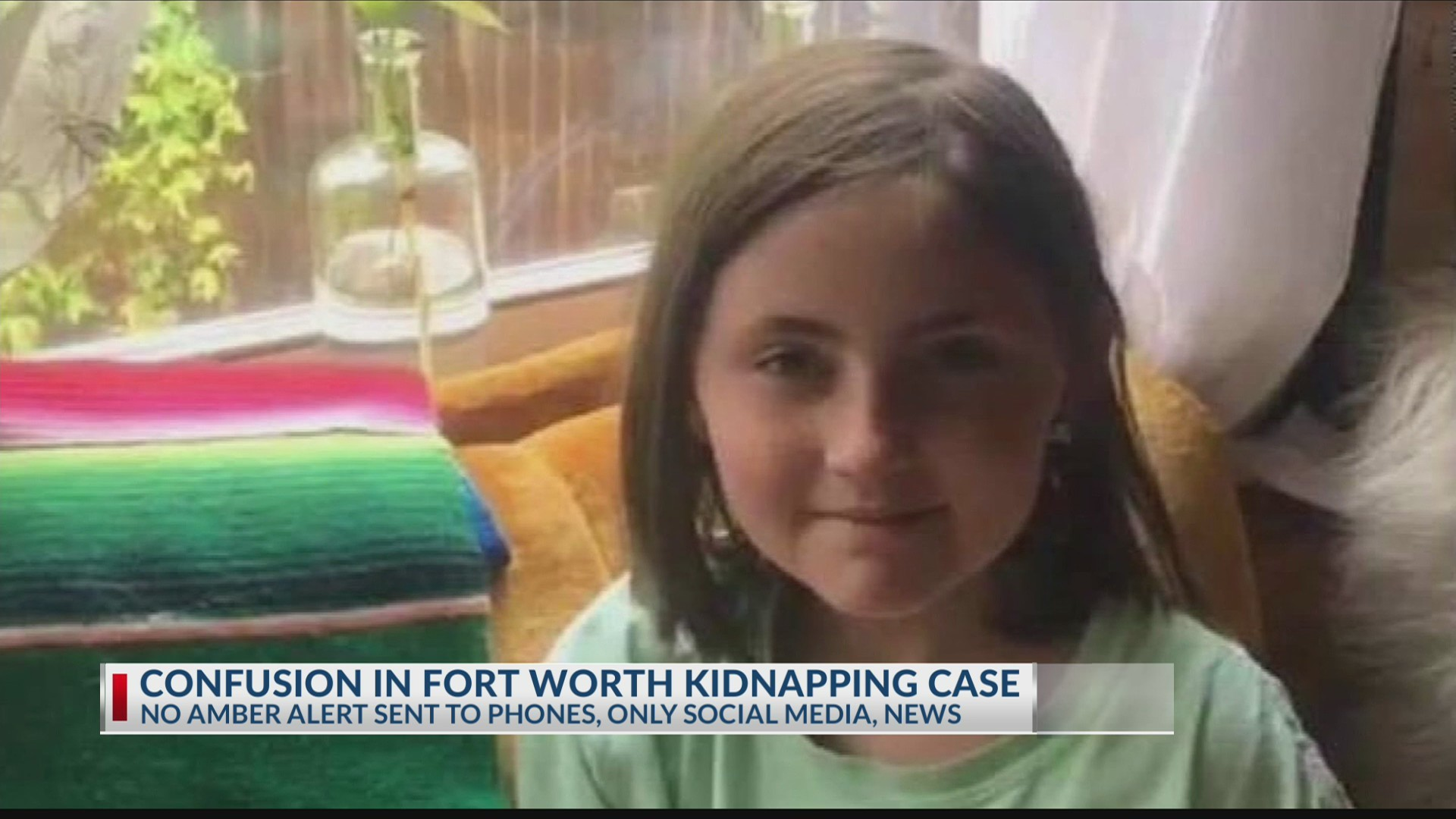 Why didn't anyone get mobile notifications about Fort Worth Amber Alert?