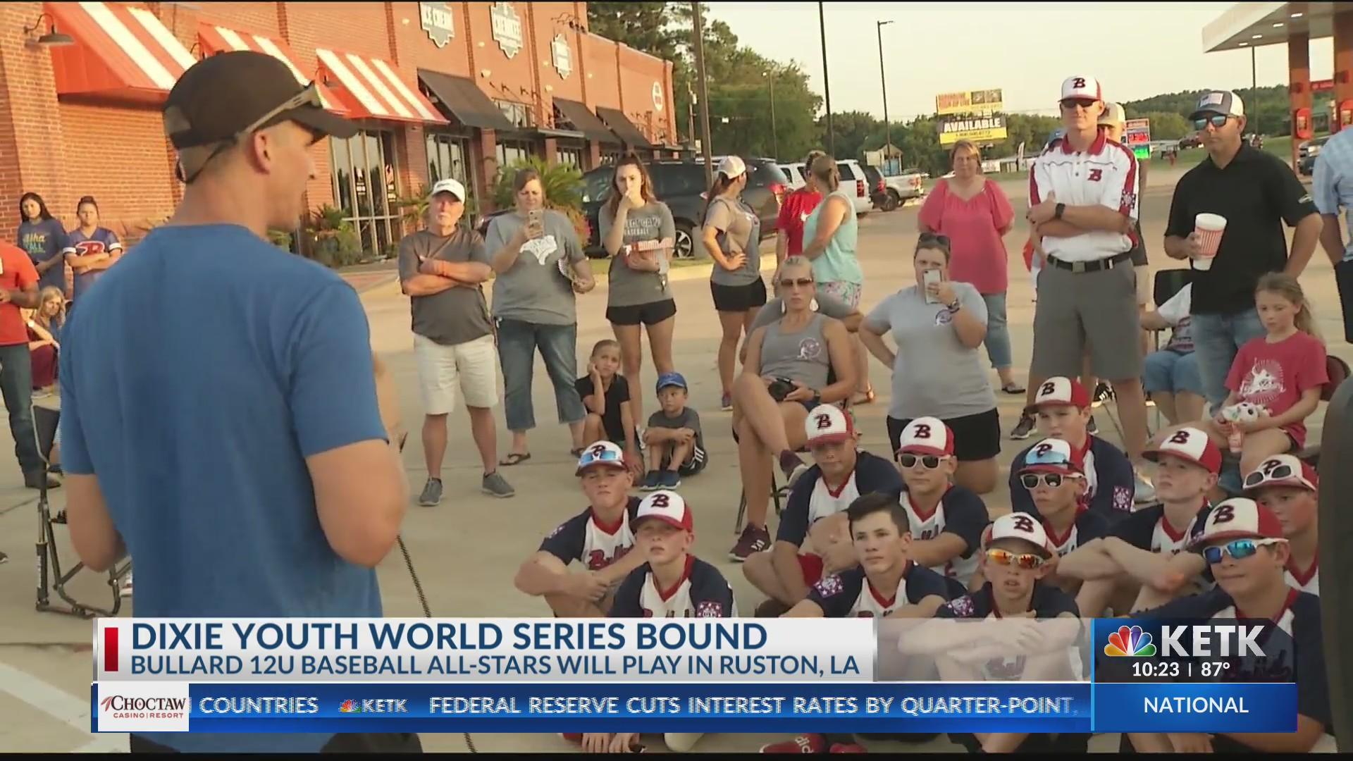 Dixie World Series bound, Bullard 12U All-Stars sent off in style
