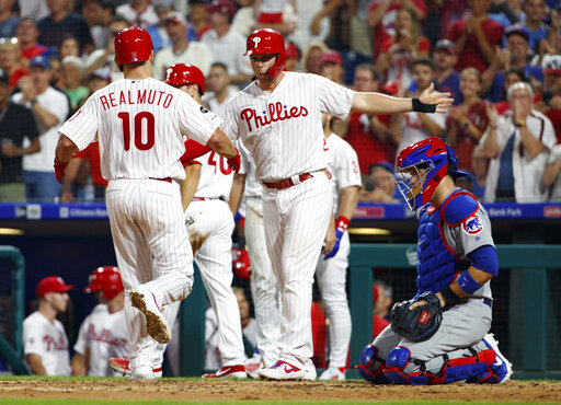 0577cf37 Hittin' season: Harper, Phils pound Cubs in Manuel's return – KETK ...