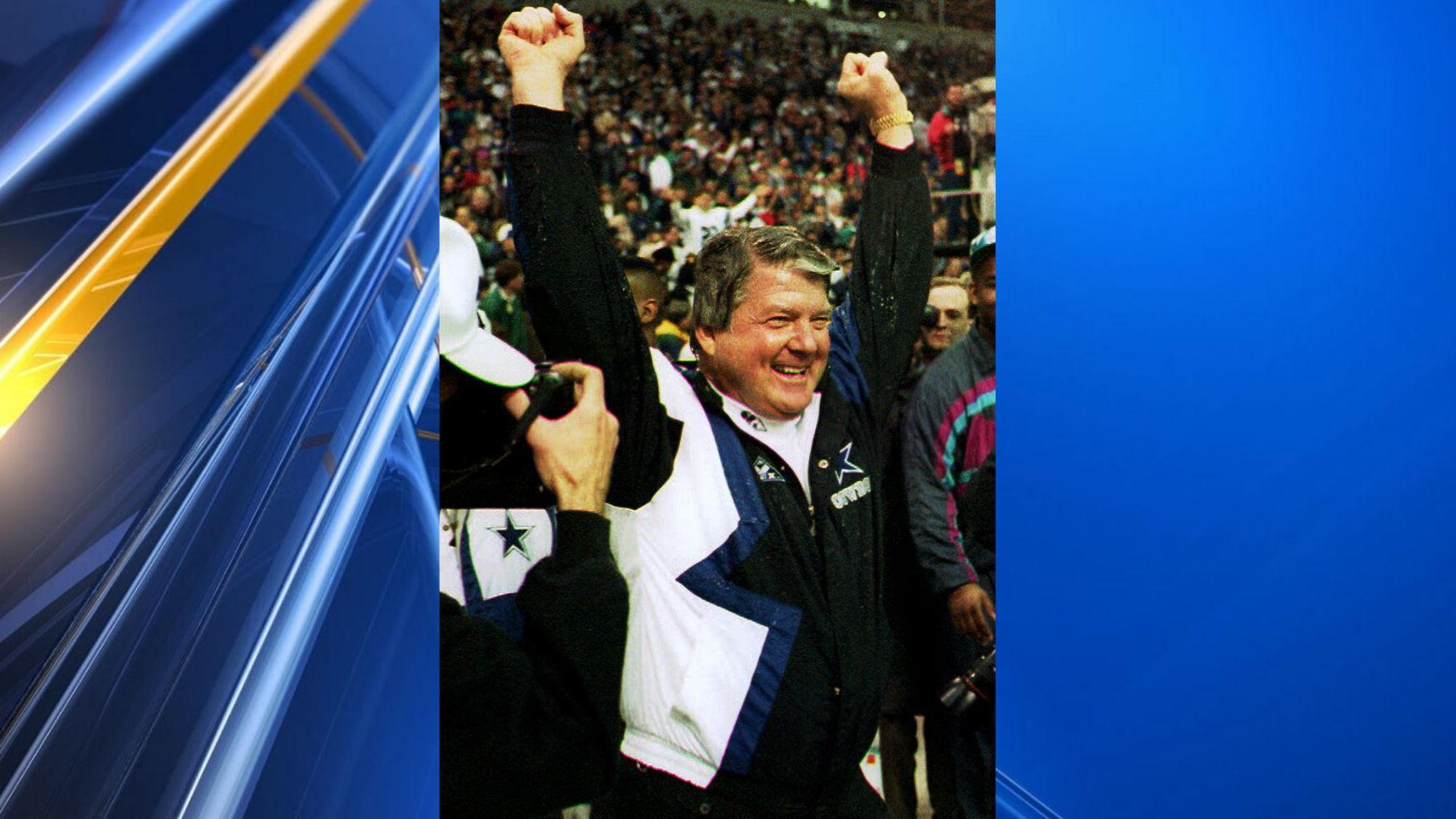Super Bowl Winning Coach Jimmy Johnson Joins Hall Of Fame
