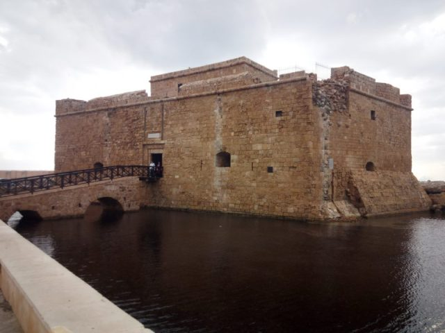 Pafos tvrđava Kipar