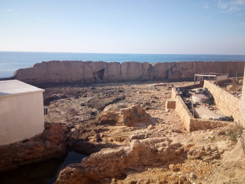 Liban Batroun Feničanski zid