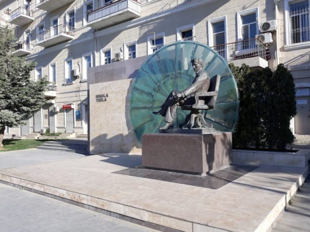 Azerbejdžan Baku Nikola Tesla