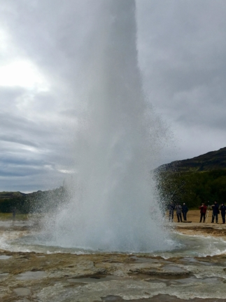 6 day iceland itinerary strokkur geyser south iceland