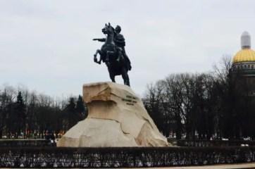 st petersburg russia points of interest peter the great bronze horseman statue saint petersburg