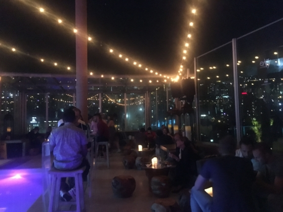 envy rooftop the charlee traveling to medellin