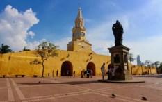la torre del reloj clock tower 4 days in cartagena colombia