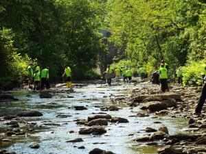 Easttown Township's First Annual Stream Clean Up