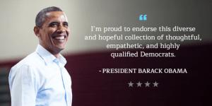 President Obama Endorses PA Statewide Candidates
