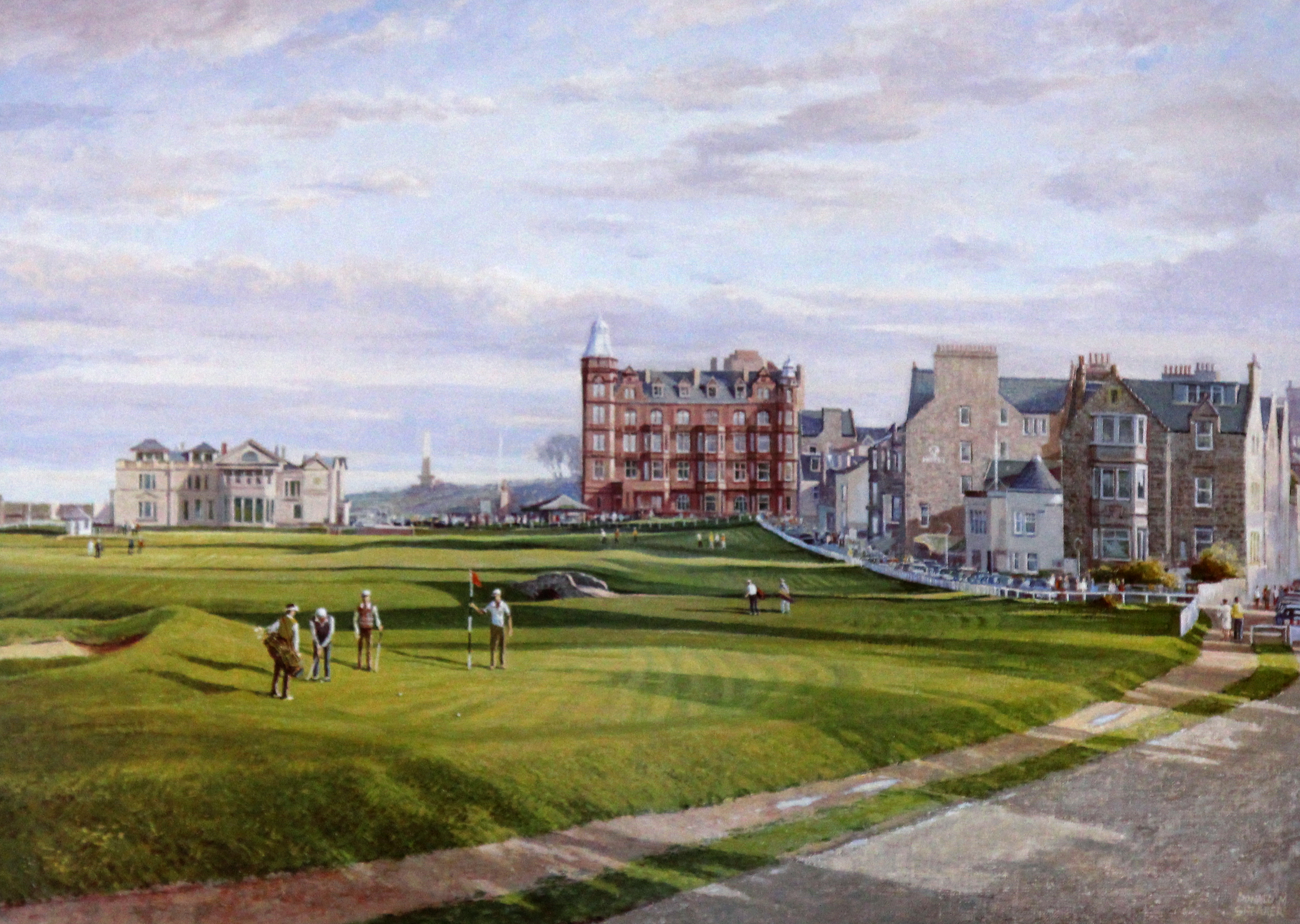 The Road Hole Old Course St Andrews EAS Art Gallery Dundee