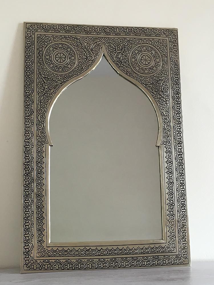 Moroccan Handmade Mirror  Medium  East Unique