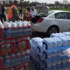 View from a grass-roots table:  people coming together to cope with Flint water