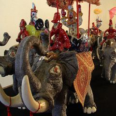"""""""Magnificent Specimens"""" of a circus parade highlight new Buckham show"""