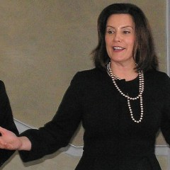 Whitmer introduces herself to Flint, challenges Detroit Dems' reported doubts