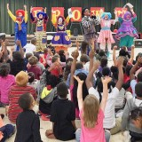 Mott Clowns deliver laughs and anti-bullying lessons to kids at Durant-Tuuri Mott
