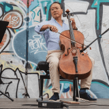 "Yo-Yo Ma combining Bach, culture, and a Flint ""Day of Action,"" climaxing at Berston Fieldhouse"