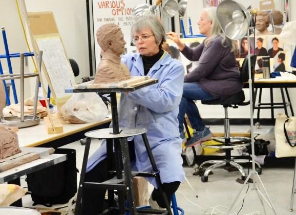 "Artwork, fundraising begin to add women ""Heroines and Humanitarians"" to Flint's sculpture pantheon"