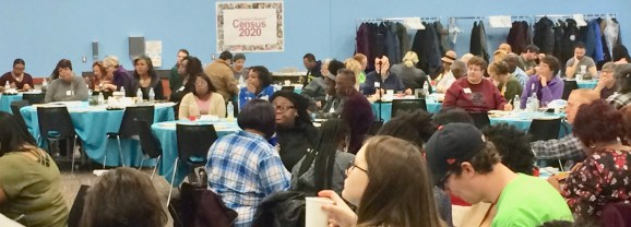 """Residents convene, share and reflect at """"Connect the Blocks"""" Flint Neighborhood Summit"""