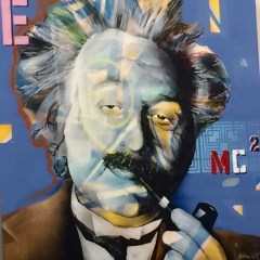 """Graffiti artist at heart"" Charles Boike bringing street art vitality to Flint"