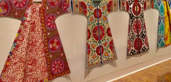 """Review:  Paper recreations of historical fashion """"amazing"""" at FIA through Sept. 8"""