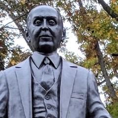 Ballenger statue unveiling highlights park celebration