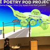 Poet Laureate Semaj Brown launches literacy project in compelling UM – Flint performance