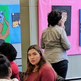 Hearing difficulties give young Flint artist a vision of inclusion