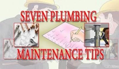 plumbing-nyc-7-maintenance-tips