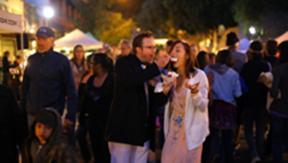 Thursday night Farmer's Market turns Higuera Street into a festive pedestrian thoroughfare