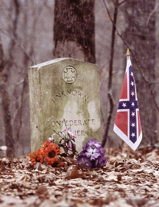 Just north of NPS headquarters at Milepost 269 are 13 graves belonging to unknown Confederate soldiers who may have died at Shiloh.