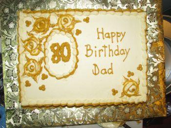 80th Birthday Cake Ideas A Wonderful Birthday Cake