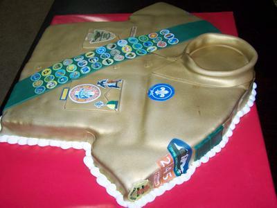 Boy Scout Cake