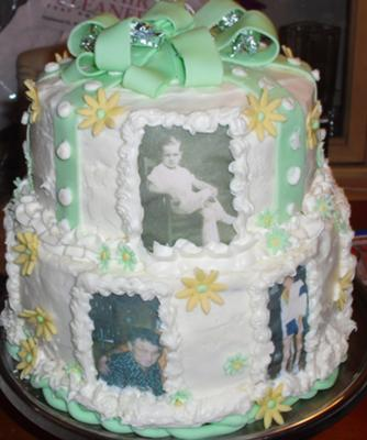 Dads 80th Birthday Cake