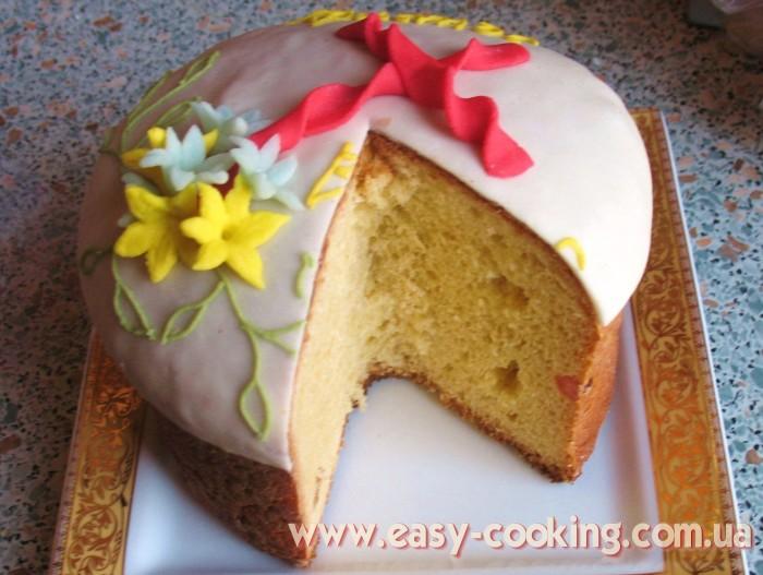 Ukrainian Easter Paska Recipe