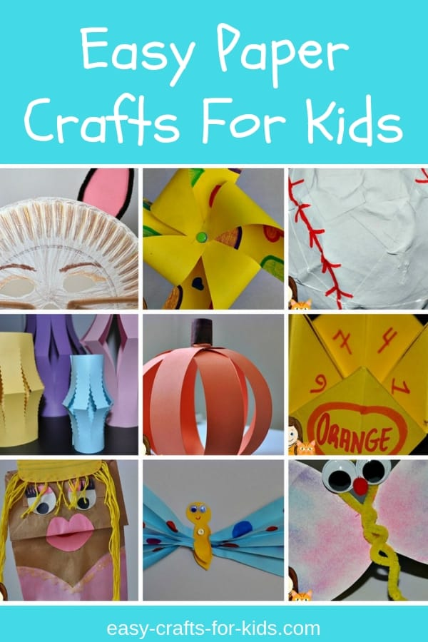 fun paper crafts for
