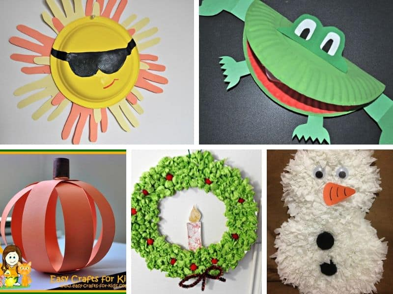 easy paper crafts for