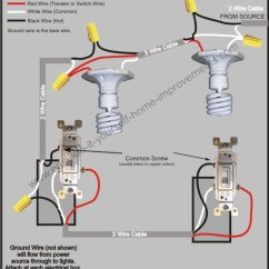Ceiling Fan Wiring Diagram Two Switches 2002 Chevy Truck Radio 3 Way Switch