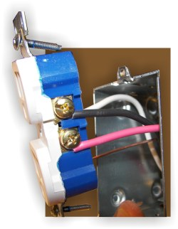 Electrical Wiring Receptacles Series How To Wire A Split Receptacle