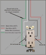 How to wire a split receptacle