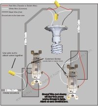 three way switch wiring diagram two lights traxxas slash 2wd transmission a light switch? here's how.
