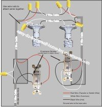 ceiling fan wiring diagram separate switches 2009 jeep wrangler unlimited radio a 3 way switch?