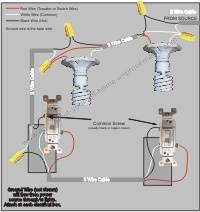 simple 3 way switch wiring diagram transducer a option 6 power to light