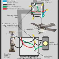 Ceiling Fan Wiring Diagram Red Wire 1950 Ford Dash