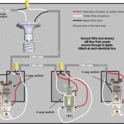 Electrical Switch Wiring Diagram Skin System 4 Way