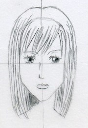 draw manga hair easily